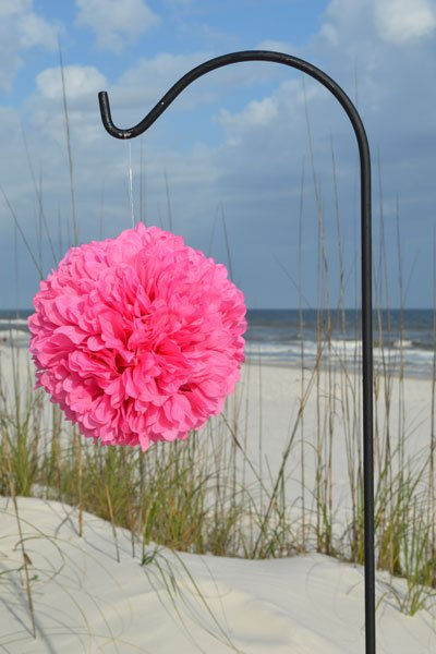 Bright-Pink-Pomander-Ball-Big-Day-Weddings-2