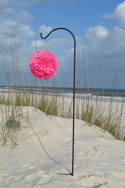 Bright-Pink-Pomander-Ball-Big-Day-Weddings