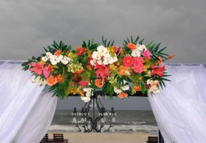 Silk Arbor Flowers-Tropical-Big Day Weddings
