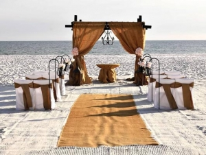 Burlap Beach Wedding Big Day Weddings Alabama