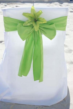 Lime Green with Green Lily