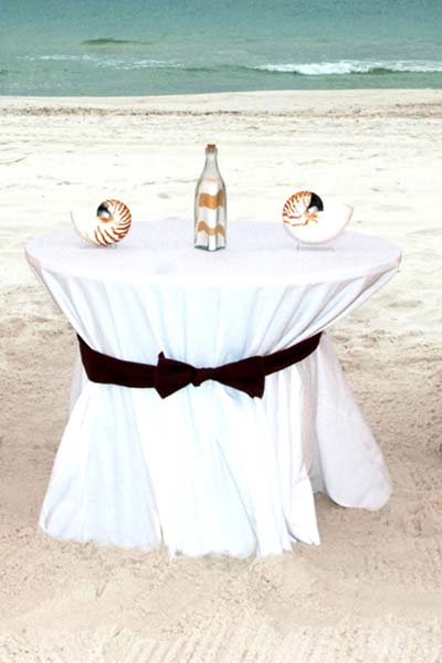 Big Day Weddings Chocolate Sand Ceremony