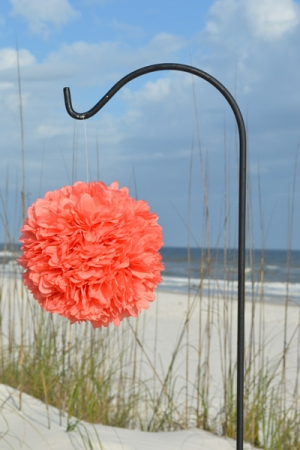 Coral-Kissing-Ball-Big-Day-Weddings