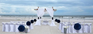Pomander Balls Beach Wedding Package Alabama Big Day Weddings JV
