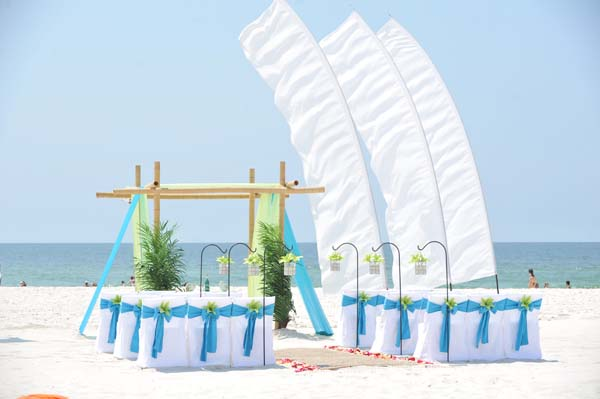 Big Day Wedding Ocean Blue and Lime 10