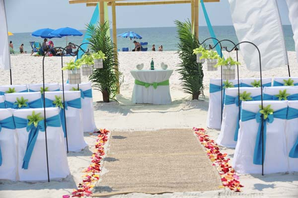 Big Day Wedding Ocean Blue and Lime 13