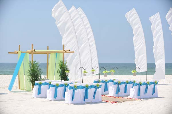 Big Day Wedding Ocean Blue and Lime 2