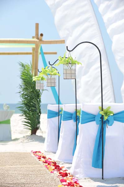 Big Day Wedding Ocean Blue and Lime 8