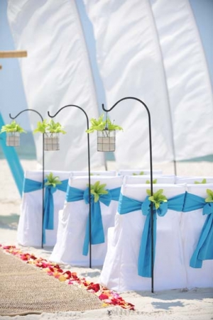 Big Day Wedding Ocean Blue and Lime 3