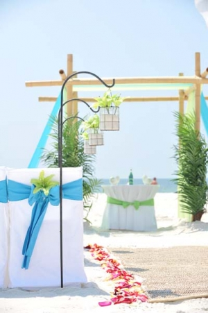 Big Day Wedding Ocean Blue and Lime 7