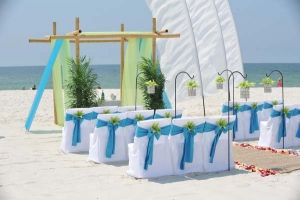Big Day Wedding Ocean Blue and Lime 12
