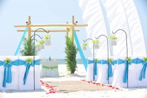 Big Day Wedding Ocean Blue and Lime 5