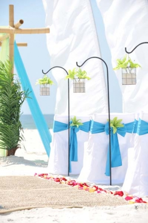 Big Day Wedding Ocean Blue and Lime 6