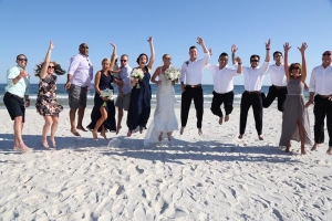 Big-Day-Weddings-Beach-Bridal-Party-Jump-Photo