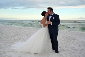 Big Day Weddings Beach Wedding Couple