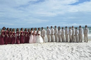 Our Brides Big Bridal Party Gulf Shores Weddings