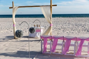 Paradise Beach Wedding Package Gulf Shores AL 2