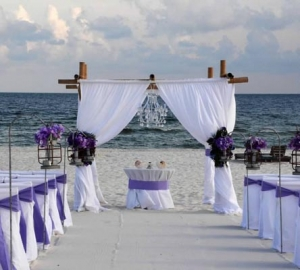 Princess Beach Wedding Package Amethyst Big Day Weddings