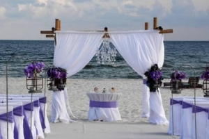 Amethyst Beach Wedding Big Day Weddings Princess Package