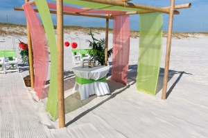 Gulf Shores Sand Dollar Wedding Package 2