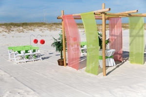 Orange Beach Sand Dollar Wedding Package 1