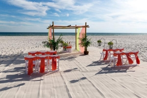 Sand Dollar Beach Wedding Gulf Shores Al rev