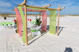 Gulf Shores Seaside Wedding Package 1