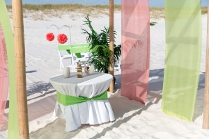 Orange Beach Seaside Wedding Package 2