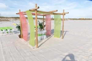 Seaside Beach Wedding Gulf Shores AL 3
