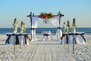 Something Blue Beach Wedding Package Big Day Weddings
