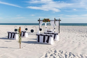 Something Blue Wedding Gulf Shores AL 2