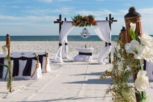 Something Blue Wedding Gulf Shores AL 5