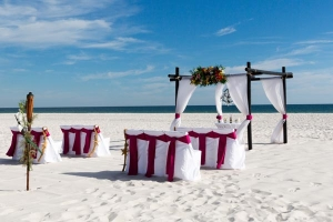 Something Blue Beach Wedding Gulf Shores AL