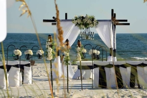 Something Blue Beach Wedding Package Gulf Shores LP