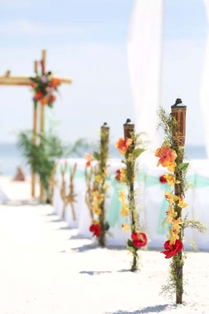 Big Day Wedding Tiki Torches 1
