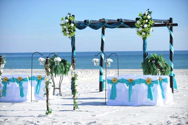 Big Day Weddings Turquoise Beach Theme 2
