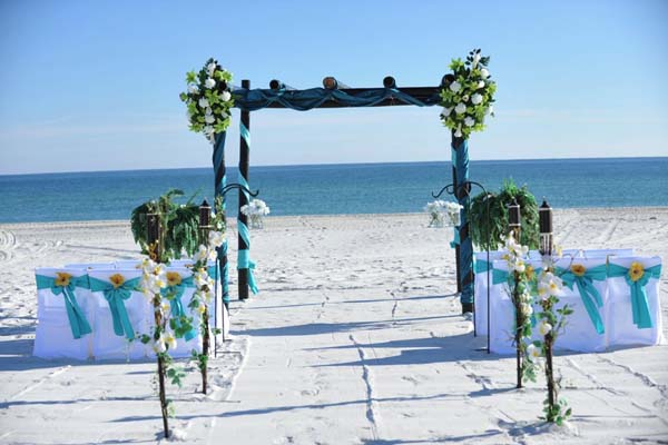 Big Day Weddings Turquoise Beach Theme 3
