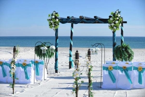 Big Day Weddings Turquoise Beach Theme 4