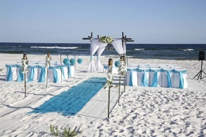 Turquoise Beach Wedding Package Big Day Weddings SC