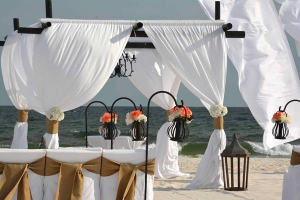 VIntage Wedding Package Gulf Shores Alabama