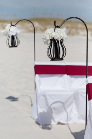 Vintage Beach Wedding Gulf Shores AL 2