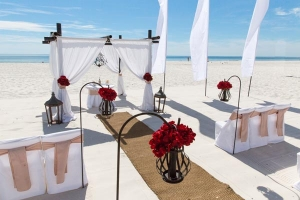 Vintage Beach Wedding Gulf Shores AL 3