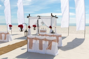 Vintage Beach Wedding Orange Beach AL