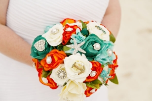 Beach Wedding Bouquet Big Day Weddings Orange Beach 2