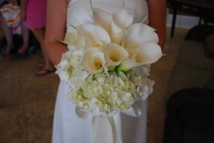 Beach Wedding Calla Lily and Hydrangea Bouquet Big Day Weddings