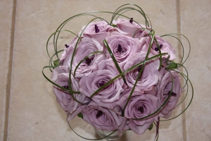 Beach Wedding Lavender Rose Bouquet Big Day Weddings