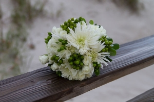 Beach Wedding White Rose Mixed Bouquet Big Day Weddings