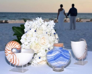 Bouquet and Sand Ceremony