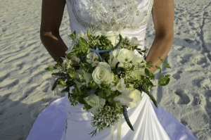 Beach Wedding Custom Cream Bouquet Big Day Weddings