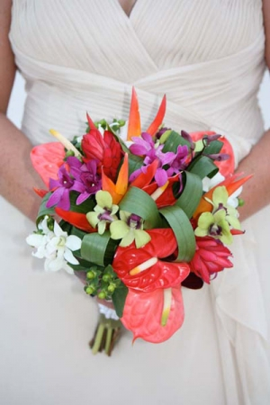 Beach Wedding Orchid Bouquet Big Day Weddings